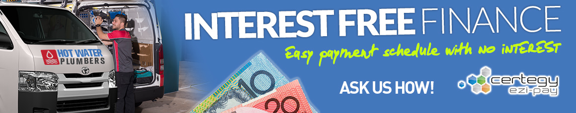 Interest FREE plumber finance
